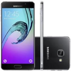 Smartphone Samsung Galaxy A3 2016 Duos A310 Desbloqueado Preto por R$ 800
