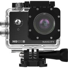 Câmera de Aventura Navcity NG-100B 12MP Full HD com Case à Prova d'água 30m + Selfie Stick por R$ 190