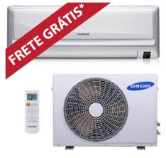 [WEBCONTINENTAL] Ar Condicionado Samsung Split Hi Wall Max Plus 9000 BTUs Quente/Frio 220v
