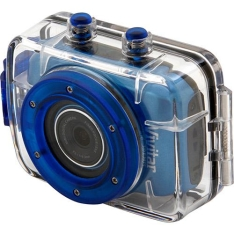 Filmadora Digital Esportiva HD Vivitar 5MP Azul - R$21