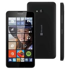 Smartphone Microsoft Lumia 640 Tecnologia 4g Lte 8.0 Mega Pixel 8gb - Preto Single Chip por R$459