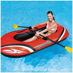 Bote Inflável com 1 Par de Remos Bestway Hydro Force por R$ 56