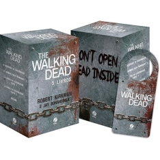 Box - The Walking Dead (5 Volumes) + Brinde - R$ 59,90