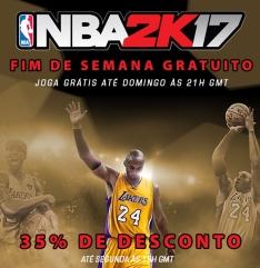 NBA 2K17 - Jogar Grátis Na Steam (1 dia e 12 horas)