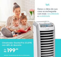 Climatizador Quente/Frio (CL07R) - 220V por R$199