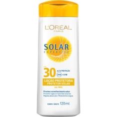 Protetor Solar Expertise Loção FPS 30 120ml - L'Oréal Paris R$11,99