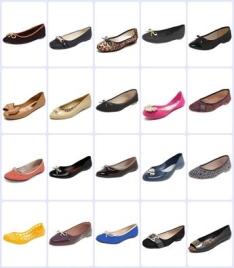 4 sapatilhas(Moleca, Beira Rio, Mooncity e outras) por R$ 99