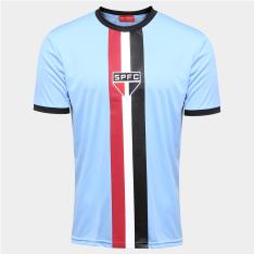 Camisa São Paulo Celeste - Edição Limitada Azul e Preto por R$ 50