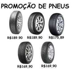 PROMOÇÃO DE PNEUS  a partir de R$ 170