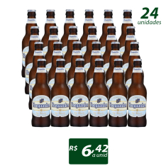 CERVEJA BELGA HOEGAARDEN GARRAFA 330ML - CAIXA COM 24 UNIDADES por R$ 155