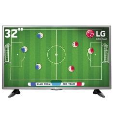 "TV LED 32"" HD LG 32LH515B com Conversor Digital Integrado por R$ 994"