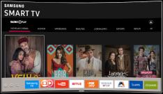 "Smart TV LED 40"" Full HD Samsung 40K5300 com Plataforma Tizen por R$ 1574"