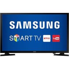 "Smart TV LED 43"" Samsung UN43J5200AGXZD Full HD Conversor Digital 2 HDMI 1 USB - R$1.700"