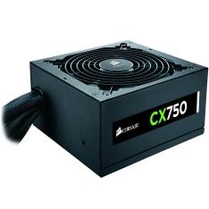 Fonte Corsair CX-750W 80 Plus Bronze - CP-9020015 - R$360