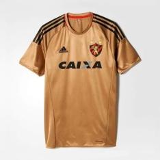 NETSHOES - Camisa Adidas Sport Recife 2016 III s/nº - Torcedor