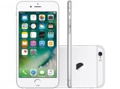 "iPhone 6s Apple 16GB Prata 4G Tela 4.7"" Retina - Câm. 12MP por R$1889"