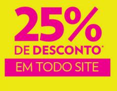 Cartão Marisa - Toda loja com 25% de desconto