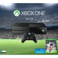 Xbox One 500GB + FIFA 16 (via download) + 1 Mês EA Access + Jogo Metal Gear Solid V The Phantom Pain Day One Edition Konami por R$ 1065