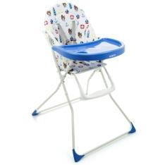 Cadeira para Refeição Dorel Banquet Marinheiro - até 23kg - Azul por R$ 160