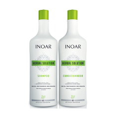 Kit Duo Inoar Herbal Shampoo 1000ml + Condicionador 1000ml por R$40