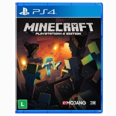 Game Minecraft - PS4 por R$ 88.16
