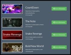 CountDown /Snake Revenge / Bold New World / The Note - GRÁTIS