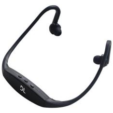 Fone de Ouvido sem Fio com Mp3 Embutido, Rádio FM, Bateria com duração de 4hs e USB 2.0 - DL por R$ 40