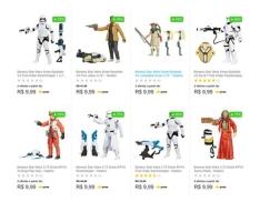 Boneco Star Wars - Hasbro 10 Modelos Disponíveis por R$ 10