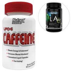 Kit Termogênico Lipo 6 New Caffeine 60 Caps – Nutrex + LA Max Black Age