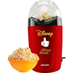 Pipoqueira Elétrica Mallory Disney Mickey por R$84,90