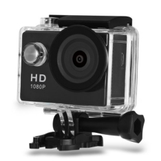 Câmera Tipo Go Pro - A9 HD 1080P MJPEG 2 inch LCD IP68 30m por R$70