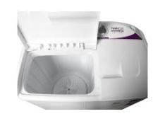 Tanquinho Praxis 10Kg Lava e Centrifuga Branco - Twin Tub por R$ 522