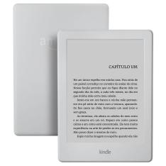 """Kindle Branco com Wi-Fi 4GB Tela 6"""" com desconto no Visa Checkout por R$169,00"""