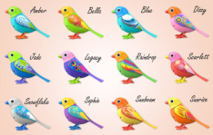Digibirds Sunbeam DTC Varios Modelos por R$ 20