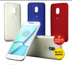 "Moto G 4 Play Ed Especial Tela 5""Android™6.0.1, 16Gb R$ 649 FRETE GRÁTIS"