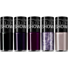 Kit 5 Esmaltes Maybelline Color Show (várias cores) - R$16,90