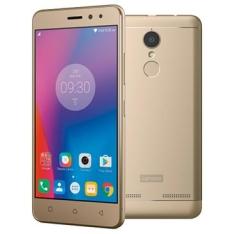 Smartphone Lenovo Vibe K6 Dourado 32GB – R$809