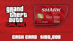 GTA V Online - Cash Card - 100.000$ PC R$8