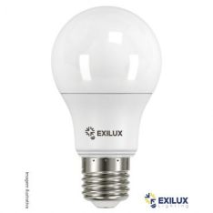 Led A60 6W Bivolt 528 Lumens 6400K Base E27 Cor: Branca - Exilux por R$ 2