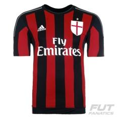 Camisa Milan home 2016,personalização grátis,coloque seu nome!