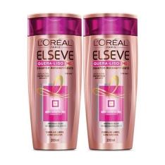 Kit Shampoo Elseve Quera Liso por R$15