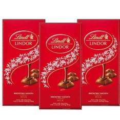 Cartão Americanas Kit 3 Chocolates Lindor Milk 100g - Lindt por R$ 30