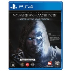 Jogo Terra Média: Sombras de Mordor - Game of the Year Edition - para Playstation 4 (PS4) por R$93