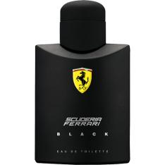 Perfume Ferrari Black Masculino Eau de Toilette 125ml R$82,99