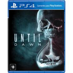 Game Until Dawn - PS4 por R$40