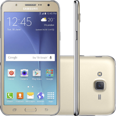 Smartphone Samsung Galaxy J7 Duos J700M Dourado - Dual Chip, 4G, Tela 5.5, 13MP + Frontal 5MP Com Flash, 16GB - R$824,55