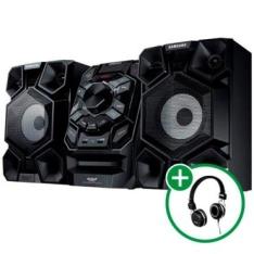 Mini System 200W RMS Samsung + Headphone Bomber Quake R$439,90