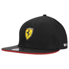 Boné Puma Scuderia Ferrari Flatbrim Preto R$ 39,90