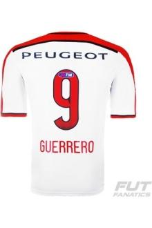 Camisa Adidas Flamengo II 2014 9 Guerrero R$ 99,28 com cupom FFNT8 e 10% boleto