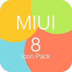 MIUI 8-Icon pack